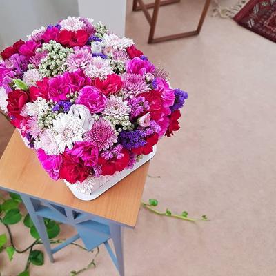 باکس گل تابستونی بزرگ