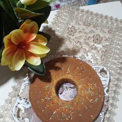 کیک نسکافه ای (کافی شاپی)