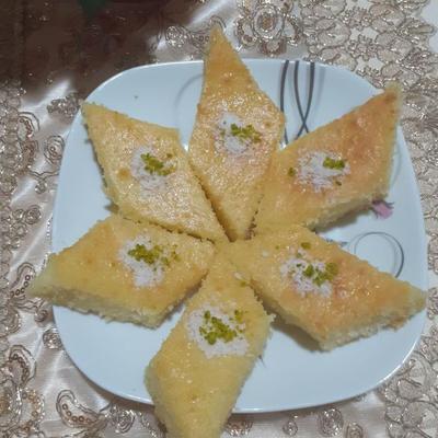 کیک باقلوا( شربتی )