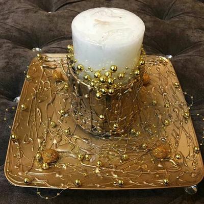 شمع و گوی طلایی