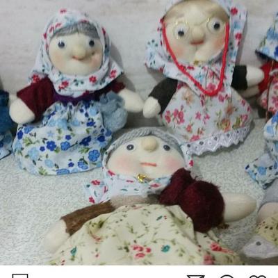 عروسک های ننه سرما