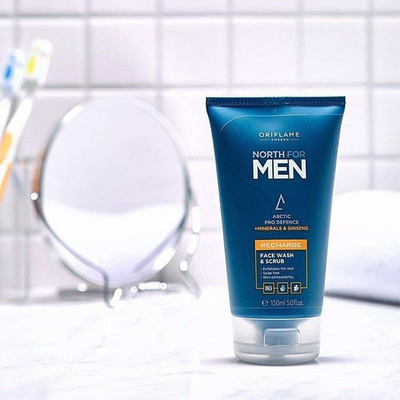 North for men Recharge Face Wash Sc