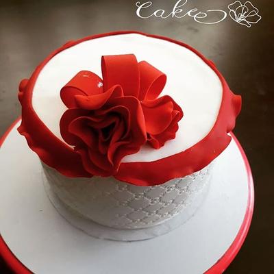 کیک گلی