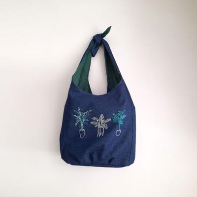 کیف گره ای سه گلدان آرنگ و یاسمین