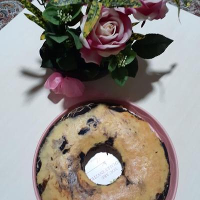 کیک نارگیلی و کاکاوویی
