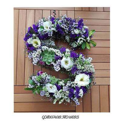 باکس گل حروف سایز بزرگ