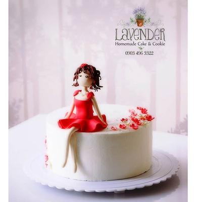 کیک دختر