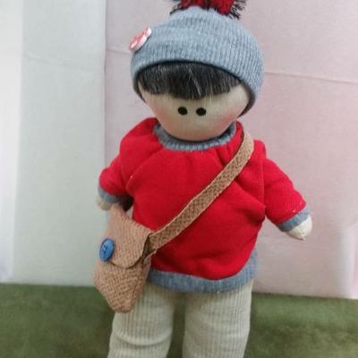 عروسک روسی پارچه ای 35 سانتی