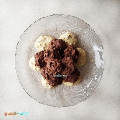 شیرینی گردویی پفکی