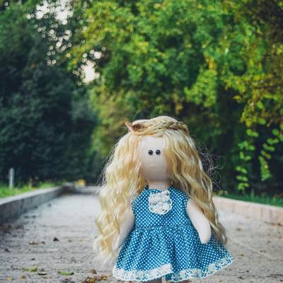 عروسک دستساز ماهگل