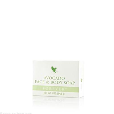 Avocado Face Body Soap صابون جامد