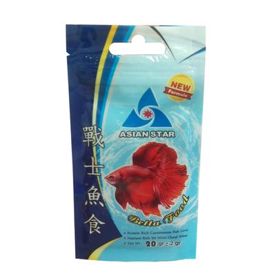 غذای ماهی فایتر 20گرمی ASIAN STAR