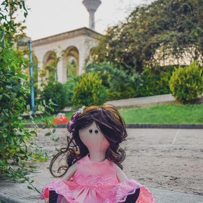 عروسک دستساز درسا