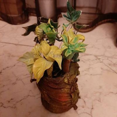 گلدان کاکتوس هنری