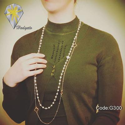 گردنبند رو لباسی - رومانتویی