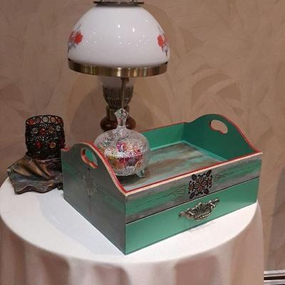 کد7: جعبه چای به همراه سینی و کشوی تی بگ