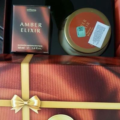 ❌❌ست کاددویی زنانه و جدید Amber Elexir