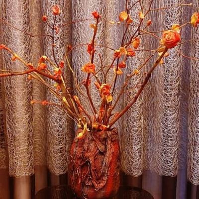 گلدان رز فانتزی