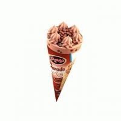 بستنی قیفی کاکائویی دورادو دومینو