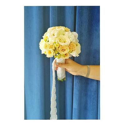 دسته گل عروس مینیاتوری