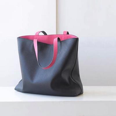 کیف چرم دو رنگ دورو
