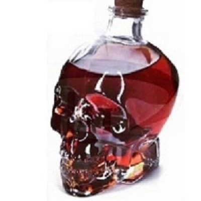 بطری طرح جمجمه