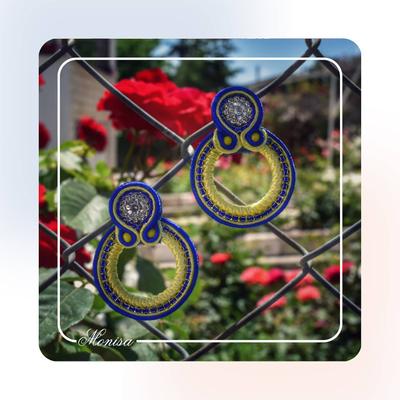 گوشواره درباری مدل زنبق