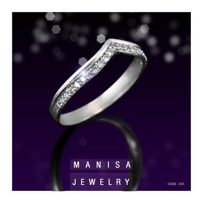 انگشتر نقره مانیسا کد001