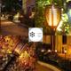 چراغ محوطه و باغچه خورشیدی
