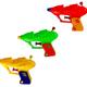 تفنگ آبپاش شش عددی در سه رنگ