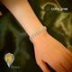 دستبند طرح کلاسیک . مشابه اصل