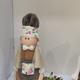 عروسک چوبی و خمیری عرفام