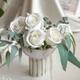 گلدان پایه دار سرامیکی ریرا