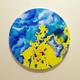 نقاشی رنگ روغن و اکلرلیک