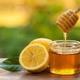 عسل طبیعی مرکبات نیم کیلویی