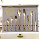 سرویس قاشق و چنگال کامل طلایی زایمر 3308