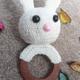 عروسک خرگوش با دسته چوبی