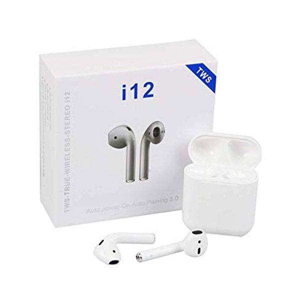 هدفون بیسیم طرح ایرپاد اپل مدل i12 tws