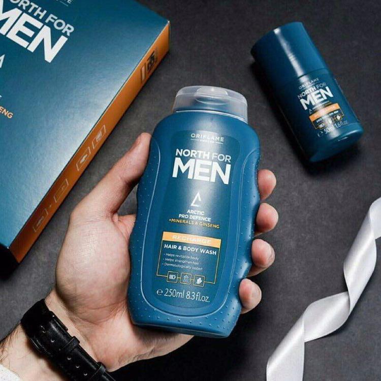 شامپو سر و بدن مردانه