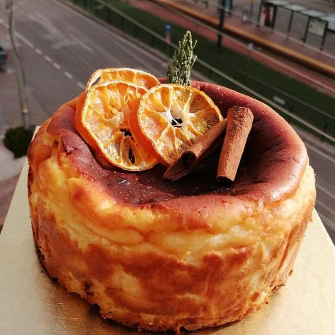 چیز کیک کوچک کیو دی