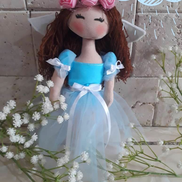 عروسک فرشته 20 سانتی