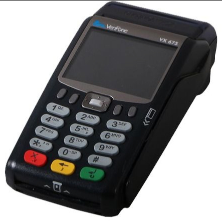 دستگاه کارتخوان verifone vx 675