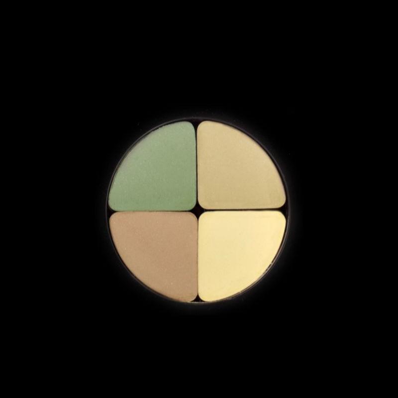 سایه چهار رنگ کریستال لاکچری کوین 602