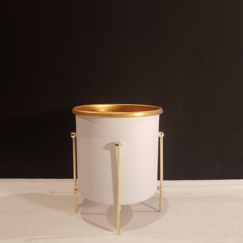 پایه گلدان فلزی قطر 21