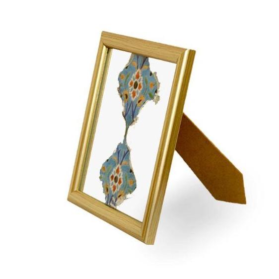 آینه آنتیک طرح کاشی کد14