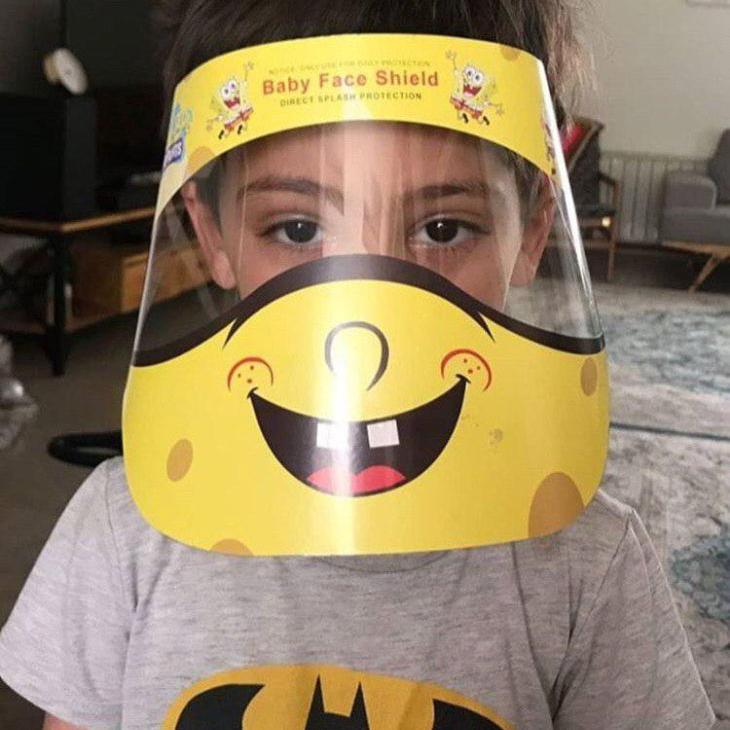 شیلد محافظ کرونا ویژه کودکان