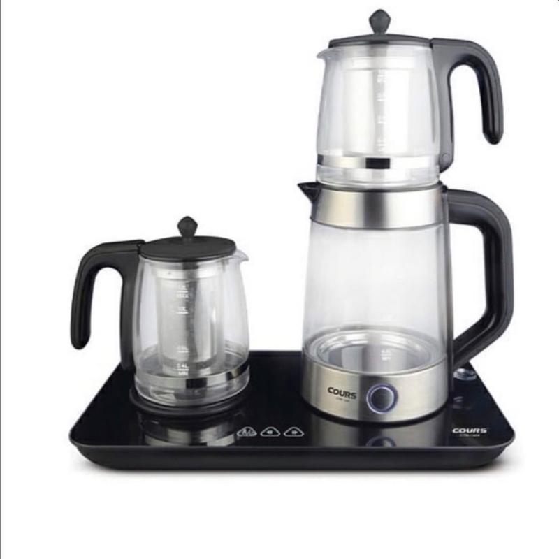 چای ساز قهوه ساز کورس همراه با دو قوری