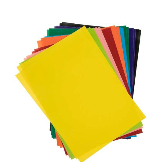 کاغذ رنگی 20 برگ