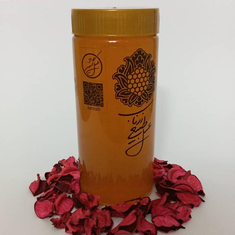 عسل گشنیز 960گرم طبیعی خام