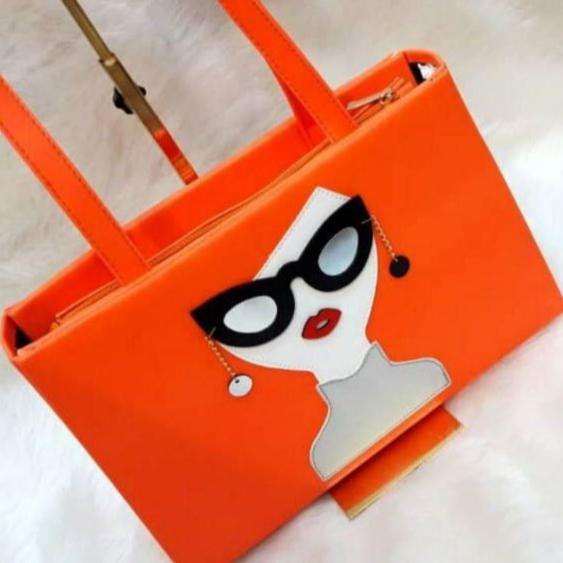 کیف طرح عینک